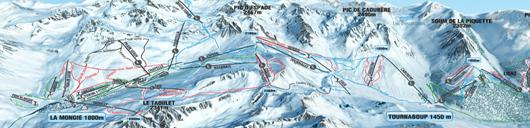 plan Grand Tourmalet